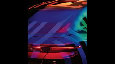 Porsche Taycan teasers