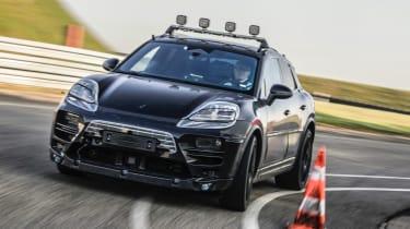 electric Porsche Macan prototypes