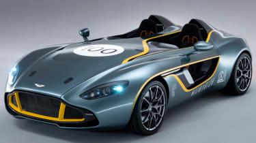 Aston Martin CC100 speedster concept front