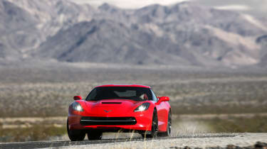 Chevrolet C7 Corvette Stingray - driving