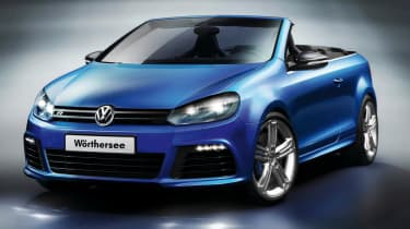 Volkswagen Golf R and Golf GTI cabriolets