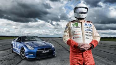 Blind speed record broken in Nissan GT-R
