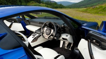 Lexus LFA tribute video cream leather interior
