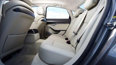 Audi A8 - rear row