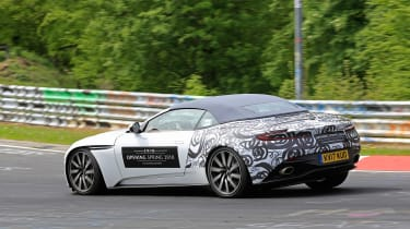 SPY - Aston Martin DB11 Volante rear