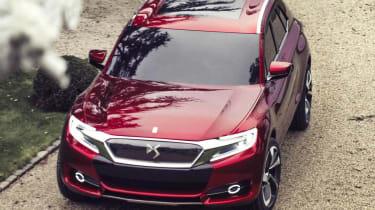 Citroen DS Wild Rubis SUV red