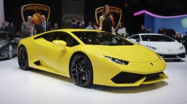 Geneva supercars: Lamborghini Huracan