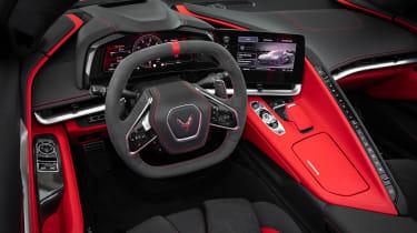 Corvette C8 Stingray EU – interior