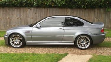 BMW M3 CSL – side