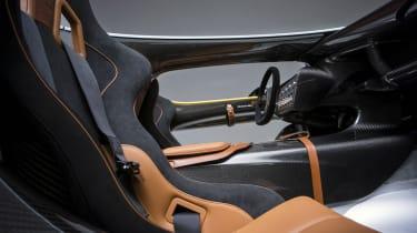 Aston Martin CC100 speedster concept interior carbonfibre