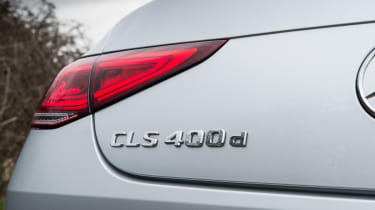 Mercedes-Benz CLS 400d badge