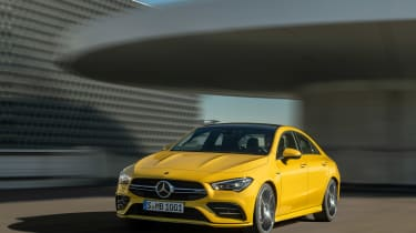 Mercedes-AMG CLA35 - front
