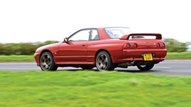 Nissan Skyline GT-R R32 rear cornering