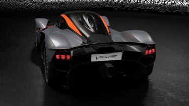 Aston Martin Valkyrie Q by AM - silver rear