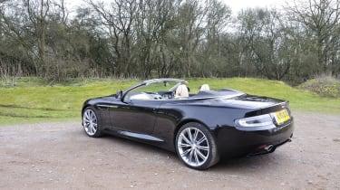 Aston Martin Virage Volante rear view