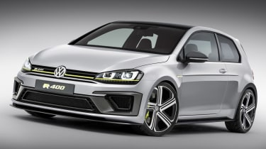 VW Golf R 400 revealed