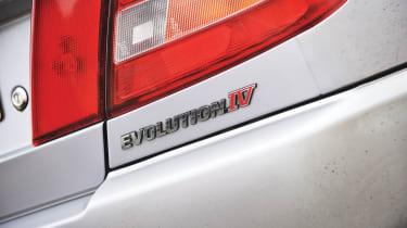Mitsubishi Evo IV badge