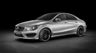 Mercedes-Benz CLA side view