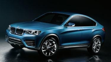 2014 BMW X4 Concept front quarter