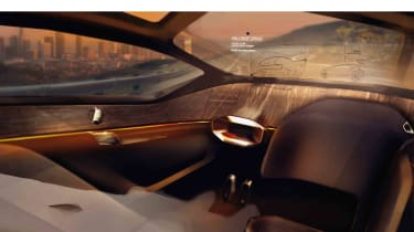 Jaguar Future Type interior