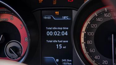 Suzuki Swift Sport – dial pack