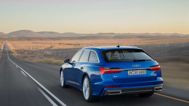 Audi A6 Avant launch - rear