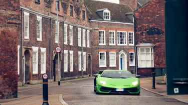 Lamborghini Aventador SVJevo – front