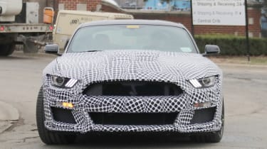 Ford Mustang Shelby GT500 in testing – front