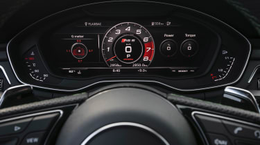 Audi RS5 - gauges