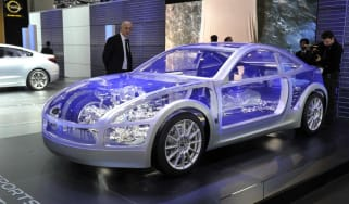 Geneva 2011: Subaru BOXER Sports Car concept