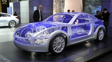 Geneva 2011: Subaru BOXER Sports Car concept