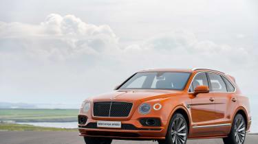 Bentley Bentayga Speed - front static