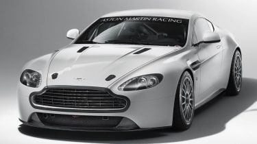 Aston Martin V8 Vantage GT4 racer