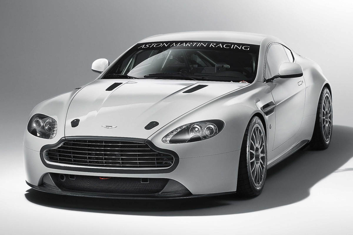 Aston Martin V8 Vantage Gt4 Revealed Evo