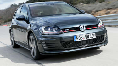 2013 mk7 VW Golf GTI front view