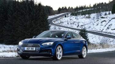 Audi A5 Sportback S-Line - front static