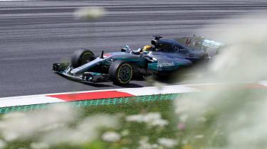 Formula One Round 9 AUT - Merc