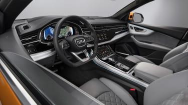 Audi Q8 TDI - interior