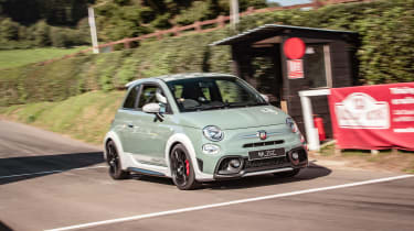 Abarth SS - front