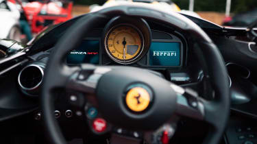 Ferrari Monza SP2 Goodwood FoS dials