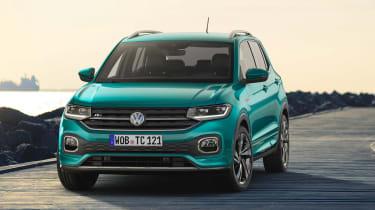 Volkswagen T-Cross revealed - nose