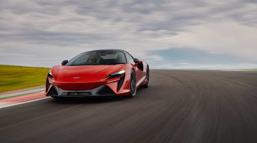 McLaren Artura revealed - orange