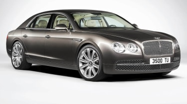 2013 Bentley Flying Spur front view