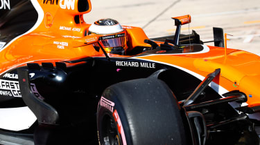 F1 2017 Austin - McLaren