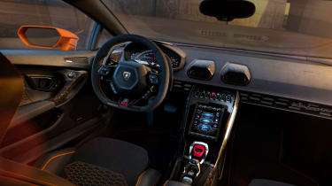 Lamborghini Huracan EVO interior