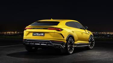 Lamborghini Urus – rear quarter