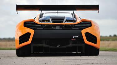 McLaren 12C Can-Am rear wing