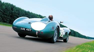 Aston Martin DBR1 rear