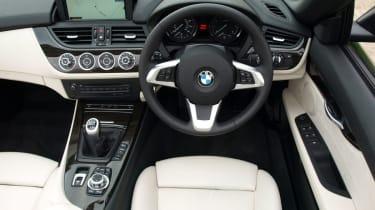 BMW Z4 sDrive 35i interior