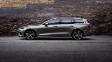 Volvo V60 press - side